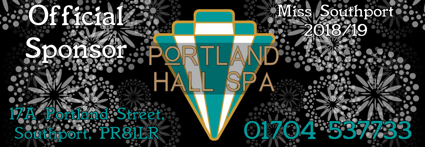 An award-winning, Moroccan themed day spa, Portland Hall Spa are the official main sponsor of Miss Southport 2018/19.